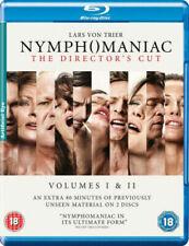 Nymphomaniac Volumes I and II Directors Cut Blu-ray DVD Region 2