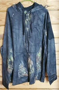 Mossy Oak Men's 3XL (54-56) Break Up Eclipse Performance Tech Fleece Hoodie NWT