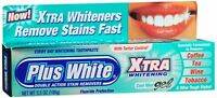 Plus White Xtra Whitening Toothpaste Gel Cool Mint 3.50 oz (Pack of 2)