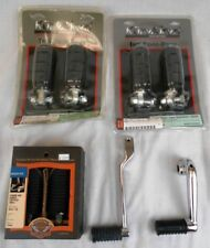Lot: Harley-Davidson Touring Motorcycle Parts: OEM & 3rd Party Footpegs & Pedals