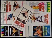 Lotto 7 Poster Bruce Lee aus China Mit Furore Die Spiel Der Tod Chen