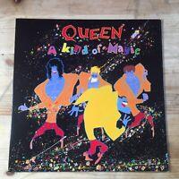 QUEEN A Kind Of Magic LP 1986 EMI Freddie Mercury Eighties With Inner