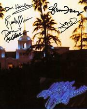 Reprint - Eagles Hotel California Don Henley - Glenn Frey Signed 8 x 10 Photo Rp