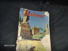 The Autocar Magazine 7th November 1952