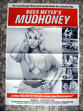 RUSS MEYER * MUD HONEY * A1-FILMPOSTER WA - German 1-Sheet RR1980s RAR