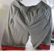 439be7bb2fb Air Jordan Fleece Mens Shorts (Grey/Red/Cool Grey-642453-063