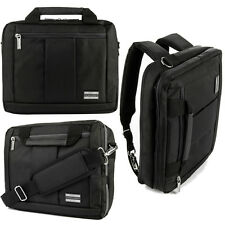 """3-in-1 Messenger Bag Backpack Briefcase for Dell Latitude / Inspiron 13.3"""" 14"""""""