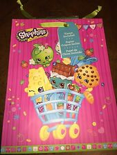 NEW SHOPKINS GIFT BAG WITH TISSUE PAPER SET I SHIP EVERYDAY