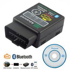 Android Car Diagnostic Scanner HH OBD 2 Advanced ELM327 OBD-II Bluetooth V2.1