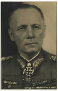 "Erwin Rommel 3.125"" x 4.875"" Signed Photo"