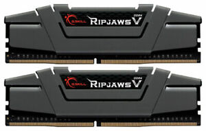 G.SKILL 32GB (2 x 16GB) Ripjaws V Series DDR4 PC4-25600 3200MHz for Intel Z17...