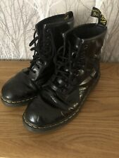 Dr Marten Black Boots Size 7 Used