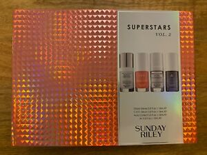 SUNDAY RILEY SUPERSTARS VOL 2 FOUR BEAUTY PRODUCTS IN ONE BOX