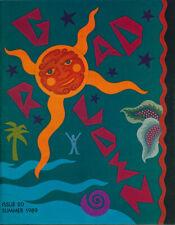 Golden Road #20 VTG Grateful Dead Fanzine/Magazine Garcia/David Singer/Cipollina