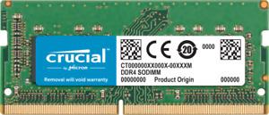 Crucial  8 GB DDR4, 2666 MT/s, PC4-21300, SODIMM, 260-Pin MAC/MACBOOK/LAPTOP