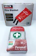 Trafalgar Personal First Aid Kit + Delta Fire Blanket BRAND NEW + FREE POSTAGE