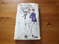 1970's VINTAGE BUTTERICK PATTERN 5516 - Jacket, Skirt & Pants