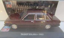 Ixo 1/43 - Les belles années Simca - Talbot Solara 1983