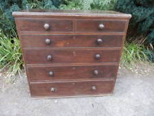 Chest of drawers, antique, Victorian, mahogany,