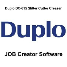 Duplo DC-615 Job Creator Software (Comes on CD)