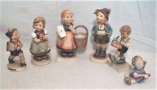 Estate Group Of 6 Vintage Goebel Hummel Figurines - All Tmk-3 & Tmk-5 - Clean