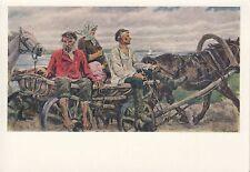 Post Card - Soviet painting / Sowjetische Malerei / Советская живопись (33)
