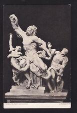 c1910 F&C art sculpture Laocoonte Museum Vaticano Rome Italy postcard