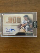 New listing 2020 Randy Johnson TOPPS Luminaries Master of the Mound Autograph 05/15