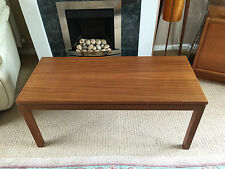 Less than 60cm High Mahogany Vintage/Retro Coffee Tables