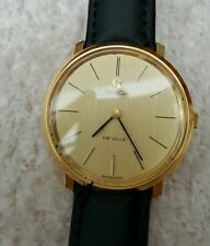 Gold Plated Strap Polished OMEGA Wristwatches