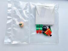 LEGO Batman Robin Suit Classic Minifigure Figure Minifig 7885 2008 Cape In Box