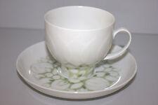 Rosenthal LOTUS Jade grün KAFFEEGEDECK 2teilig Kaffeetasse & Unterteller