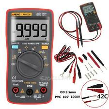Digital AN8008 True-RMS Multimeter 9999 Counts Square Wave Voltage Ammeter Meter