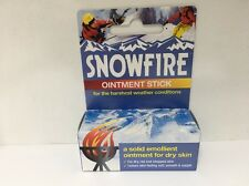 Snowfire Ointment Stick 18g - A solid emollient ointment for dry skin