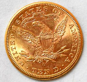 US 1906-D $10 Liberty Gold Eagle Coin