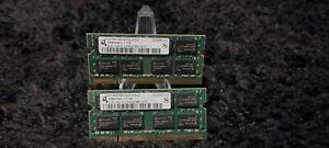 4gb kit DDR2 LAPTOP RAM (PC2-6400s)