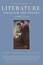An Introduction to Literature Criticism and Theory by Nicholas Royle, Andrew Be…