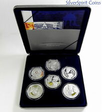 2001 MASTERPIECES IN SILVER PROOF Coin Set