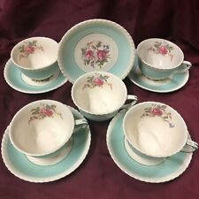 """Johnson Brothers England """"Old English"""" Pattern Five Cups and Saucers"""