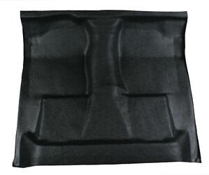 Black Vinyl Floor Mat - replaces carpet 2008-2016 Ford F250 super duty std cab
