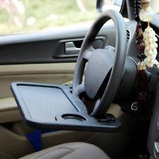 Steering Wheel Desk Universal Mount Portable Multi Tray Table Laptop Work Desk