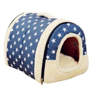 Dog Pet House Products Dog Bed For Dogs Cats Small Animals keep warm dog bed