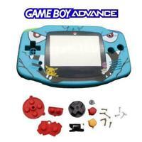 Pokemon GBA Shell - Game Boy Advance Housing Case Kit Blue Venusaur Mod UK Stock