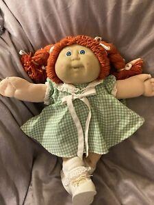 vintage cabbage patch kids girl doll