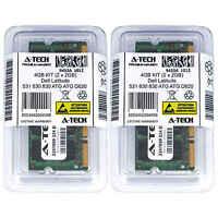 4GB KIT 2 x 2GB Dell Latitude 531 630 830 ATG ATG D620 ATG D630 Ram Memory