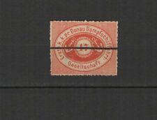 Autriche Compagnie Danubienne de navigation à vapeur 1866/67 un timbre /T2554