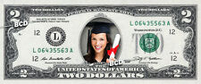 CUSTOMIZED COLOR $2 Dollar Bill with ur NAME & Picture! Made w/ Real Cash Money