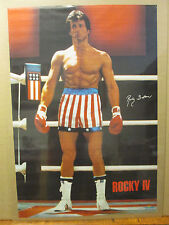 Rocky IV 1985 Balboa ORIGINAL Vintage Poster 8193