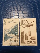 Poland Stamps 1976 USED Modern Airfilght