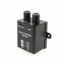 Bass-Level Fernbedienung Regler Gain 0/12dB Frequenz 40-150Hz CarHifi Subwoofer